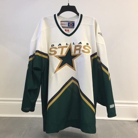 promo code 2bcb4 a2888 Dallas Stars NHL retro jersey